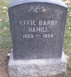 Effie Barry <I>Williamson</I> Hamill