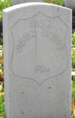 Pvt John Davis
