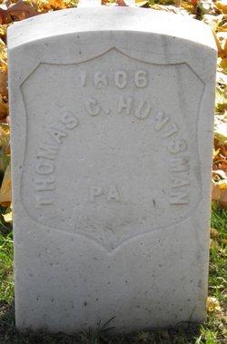 Pvt Thomas C Huntsman