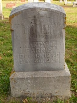 Nancy Ellen <I>Widdows</I> Farris
