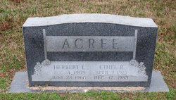 Ethel Cee <I>Rook</I> Acree