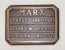 Agnes <I>O'Malley</I> Marx