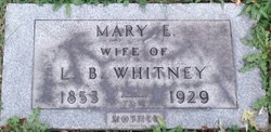 Mary Emma <I>McIlvain</I> Whitney