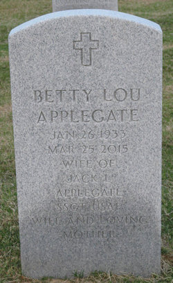 Betty Lou <I>Copeland</I> Applegate