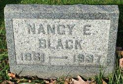 """Nancy E """"Nannie"""" <I>Sowers</I> Black"""