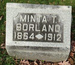 "Arminta T ""Minta"" Borland"
