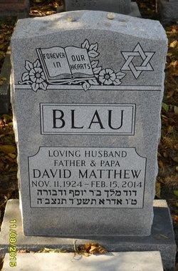 David Matthew Blau