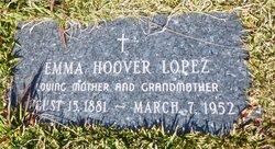 Emma Narsis <I>Hoover</I> Lopez