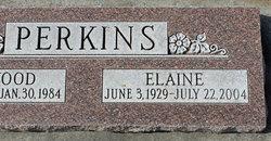Elaine <I>Bunderson</I> Perkins