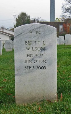 Betty <I>Lee</I> Wilson