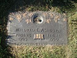 Mildred Elizabeth <I>Brubaker</I> Ashburn