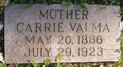Carrie Valma <I>York</I> Bostwick