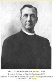 Rev Calbraith Bourn Perry