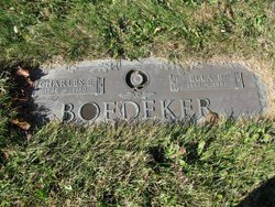 Charles E Boedeker