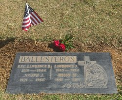 PFC Lawrence B Ballesteros