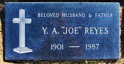 """Ynez Aragon """"Joe"""" Reyes"""