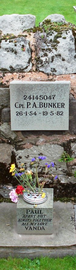 Corp Paul A Bunker