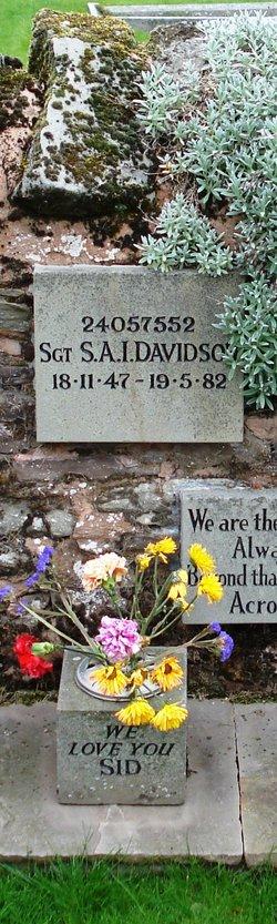 "Sgt Sidney Albert Ivor ""Sid"" Davidson"