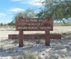 Chemehuevi Indian Cemetery