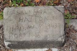 Mrs Alberta Hatton
