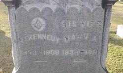 Mary Ann <I>McGinnis</I> Kennedy