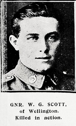 PVT Walter George Scott