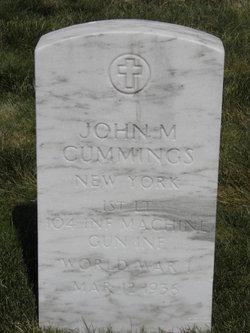 John M Cummings