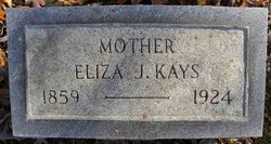 Eliza J. <I>Fiddler</I> Kays