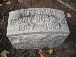 Henry Bossert