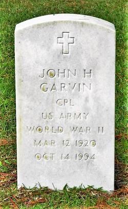 John H Garvin