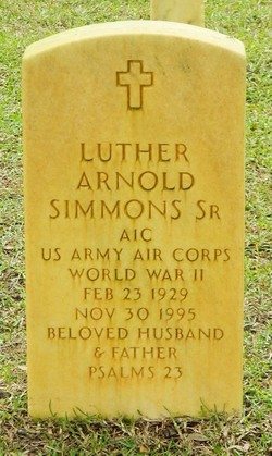 Luther Arnold Simmons, Sr