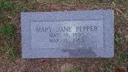 Mary Jane Pepper