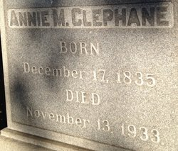Anne Marie <I>Collins</I> Clephane