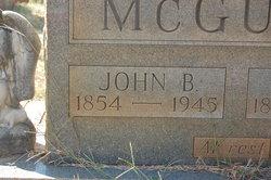 John Benjamin McGuire