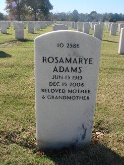 Rosamarye Adams
