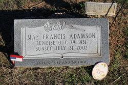 Mae Francis Adamson