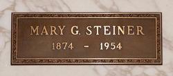 Mary <I>Gardner</I> Steiner