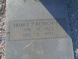 Homer P Blanchard
