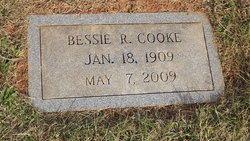 Bessie <I>Rumley</I> Cooke