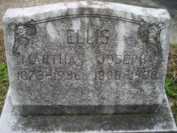 Martha <I>Lafontaine</I> Ellis