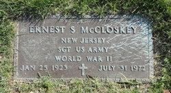 Sgt Ernest Stratton McCloskey
