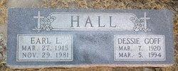 Dessie Mae <I>Goff</I> Hall