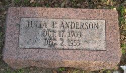Julia Frances <I>Russell</I> Anderson