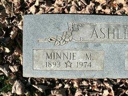 Minnie Mae <I>Elston</I> Ashley