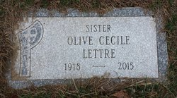 """Sr Olive Cecile """"Mary"""" Lettre"""