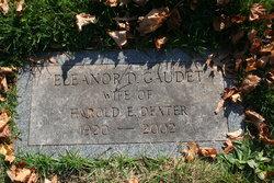 Eleanor Doris <I>Gaudet</I> Dexter