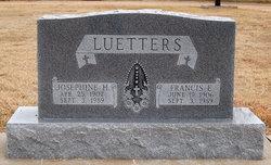 Francis Edgar Luetters 1906 1989 Find A Grave Memorial