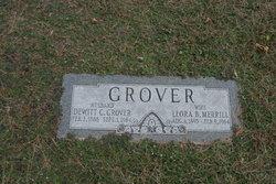 Leora Belle <I>Merrill</I> Grover