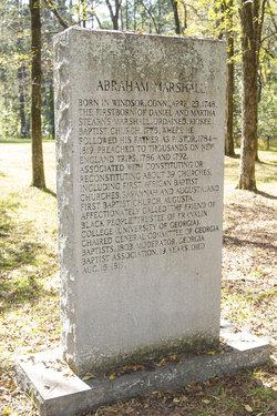 Rev Abraham Marshall