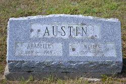 Arabella Francenia <I>Perkins</I> Austin